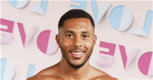 Love Island bombshell Aaron Simpson looks very different with blond hair in pre-villa days