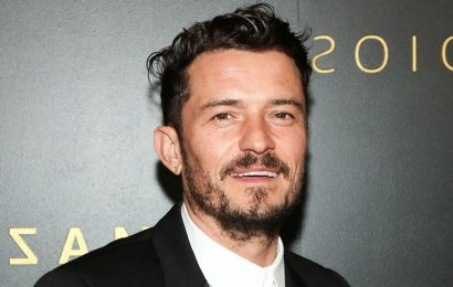 Orlando Bloom Posts Photos and Video of Himself Skinny-Dipping