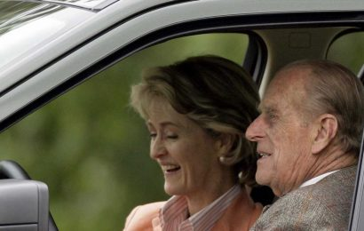 Prince Philip's Brow-Raising Friendship with Penny Brabourne to Be Featured on 'The Crown'