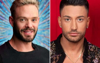 Strictly hunk Giovanni Pernice sparks rumours he's dancing with John Whaite in show's first all male couple