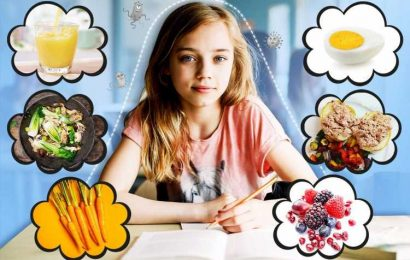 The 9 tips to boost your child's immunity before the start of school – plus a meal plan