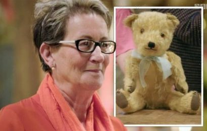 The Repair Shop guest who was found in a carrier bag as a baby leaves experts in awe