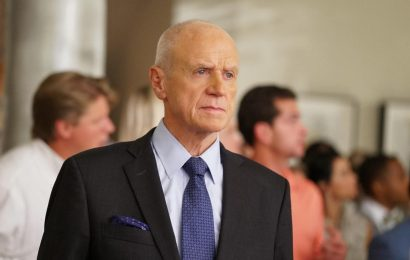 Why did Alan Dale leave Dynasty?