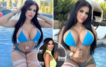 90 Day Fiance fans shocked as Larissa Dos Santos Lima shows off her MASSIVE new boobs after plastic surgery makeover