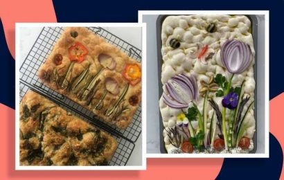 A simple guide to making stunning, seasonal floral focaccia from scratch