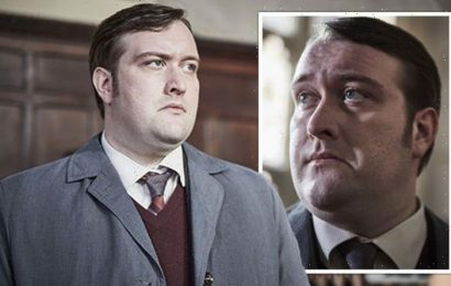Endeavours Jim Strange star Sean Rigby unrecognisable after dramatic weight loss