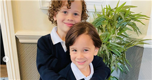 Girls Alouds Kimberley Walsh shares sweet snaps as son Cole starts school