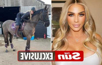 Katie Price forced to cancel Mighty Hoopla performance as her horse is dying