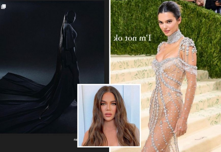 Khloe Kardashian says she's 'not OK' gushing over Kendall and Kim's Met Gala looks after being 'too C List' to attend
