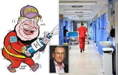 LORD ASHCROFT: You will never fix the NHS by spraying it with cash
