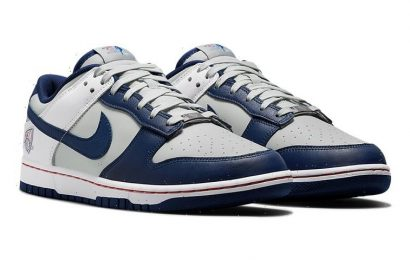 """Official Look at the NBA x Nike Dunk Low """"Nets"""""""