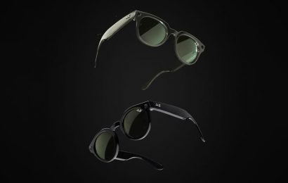 Ray-Ban and Facebook Launched Their First Pair of Smart Glasses