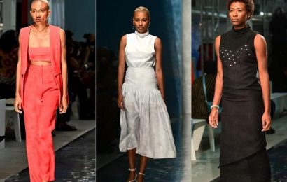 Runway Recap: Arc Of Andre SS2022 Collection Spotlights Black Maternal Health Crisis At Essence Fashion House