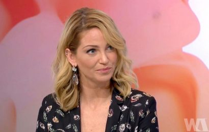 Sarah Harding admitted losing touch with Girls Aloud pals in final TV appearance