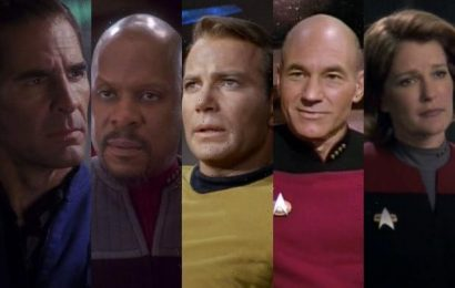 'Star Trek': All 39 Classic TV Main Characters Ranked, From Spock to Wesley (Photos)