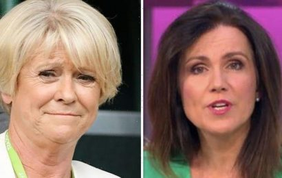 Sue Barker row: Susanna Reid fumed at BBC for axing star from Question of Sport