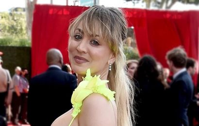 The Mascara Kaley Cuoco Wore to the Emmys Provides a 24-Hour Lift