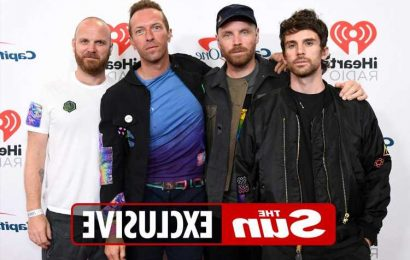 Coldplay to play gig powered by 60 cyclists generating electricity at Earthshot Prize Awards set up by Prince William