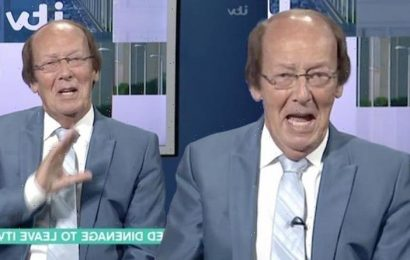 Fred Dinenage Im not retiring! – Ill never stop working! despite shock quit on ITV