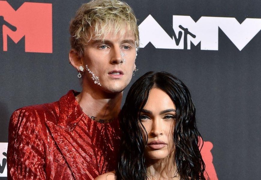 Machine Gun Kelly says dating Megan Fox is full of ecstasy and agony