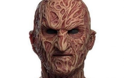 Man buys Freddy Krueger mask for Halloween but gets laugh rather than nightmare