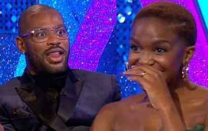 Oti Mabuse on embarrassing Strictly moment as partner Ugo Monye says she loves a grower