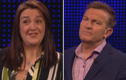 The Chase's Bradley Walsh makes shock jibe at contestant after shaky performance