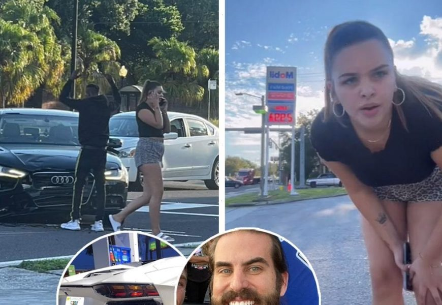 Woman Rear Ends Lamborghini and Blames Other Driver — And it Looks Like She Might Be Right
